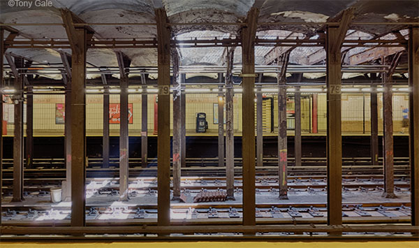 103rd st subway station. ©Tony Gale