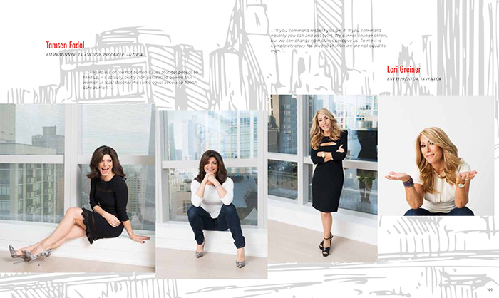 Tamsen Fadal and Lori Greiner ©Tony Gale