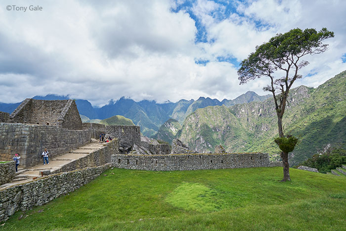 The entrance to Machu Picchu ©Tony Gale